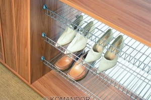 wardrobe shoe racks