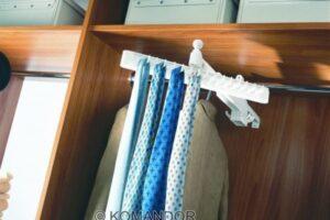wardrobe tie hanger