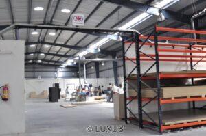 Luxus factory floor