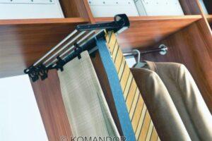 wardrobe rail hanging for dress