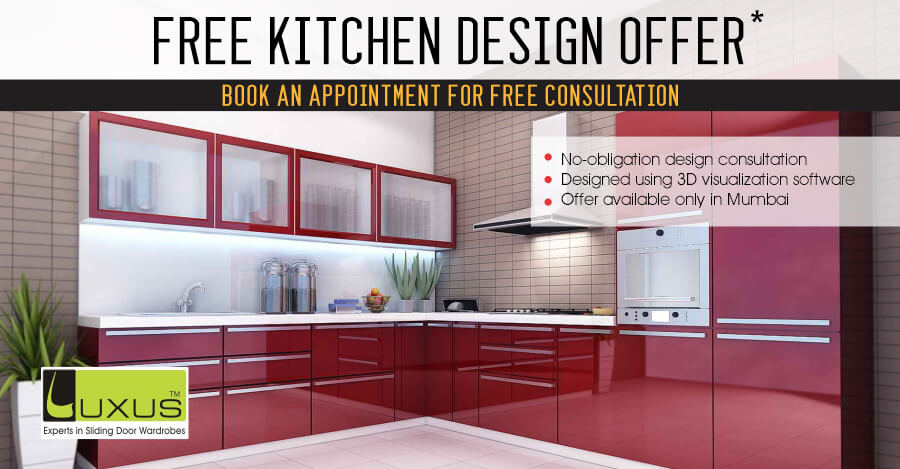 Design Your Dream Kitchen for Free | Luxus India