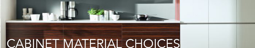 Kitchen Cabinet-Material-Choices