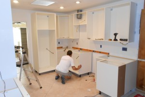 Kitchen-Installation