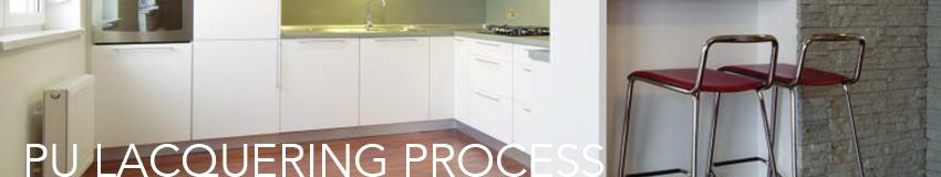 Kitchen PU-Lacquering-Process