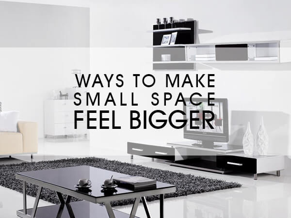 11 Ways to Make Small Spaces Feel Bigger