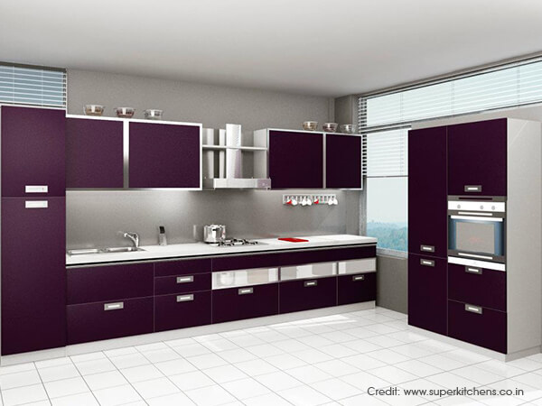 Merveilleux Modular Kitchen Designs