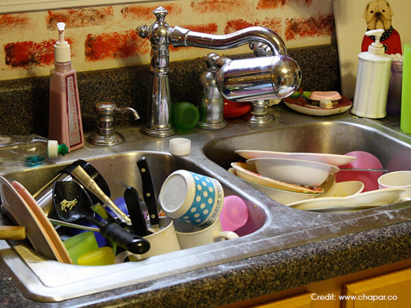 Modular-Kitchen-Do-not-leave-dishes-in-the-sink