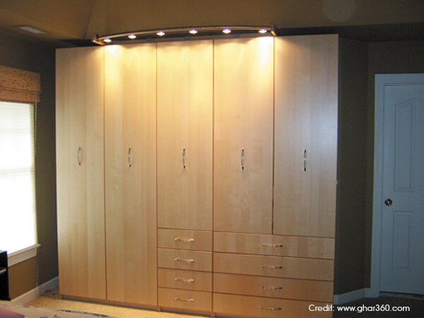 Wardrobe-Downlights