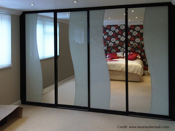 Bedroom Sliding Wardrobe Design Ideas