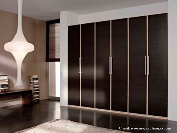 Bedroom sliding wardrobe design ideas luxus india for Contemporary wardrobe designs india