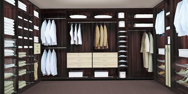 Modern wardrobe materials cost guide luxus india