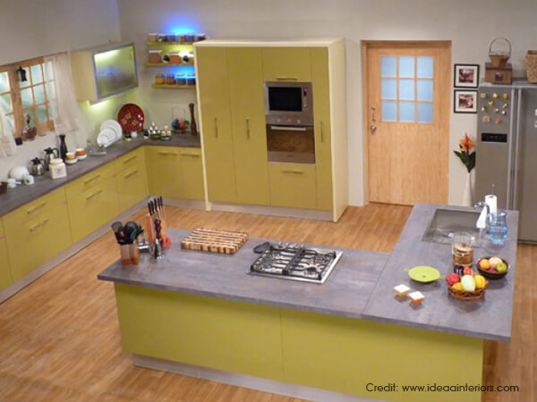G Shaped Kitchen Layouts g shaped kitchen [inspiration ideas] | luxus india