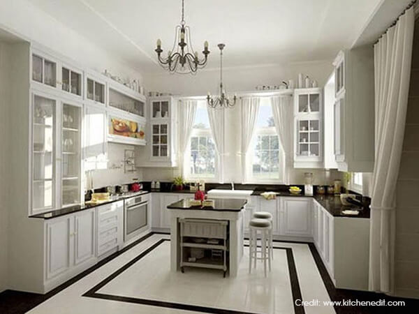 U Shaped Kitchen [Inspiration Ideas] Luxus India Simple U Shaped Kitchen Ideas