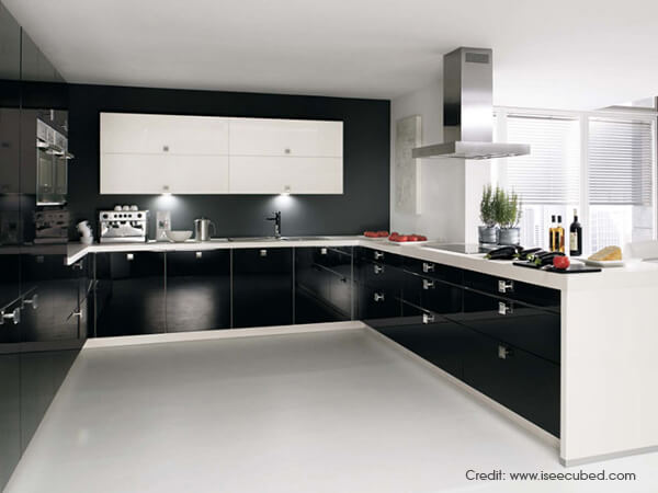 U shaped kitchen inspiration ideas luxus india for Smart kitchen design