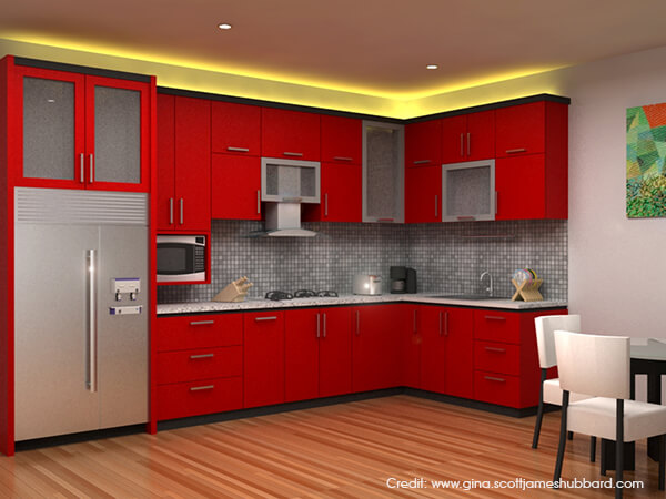 Kitchen Design Colours choosing the right kitchen colour [design ideas] | luxus india