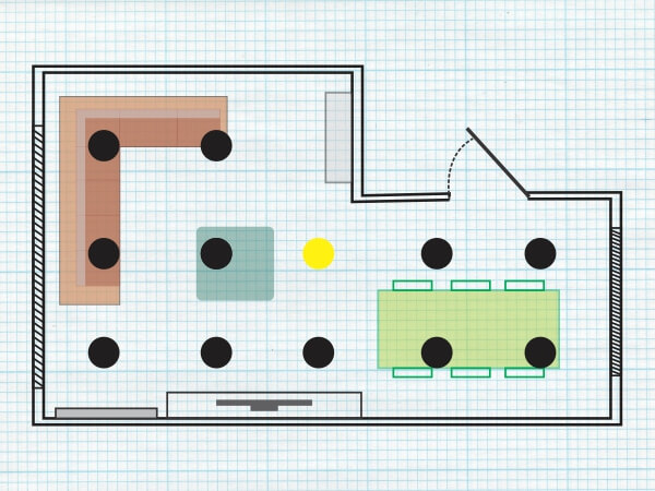 Layout for Even Lighting
