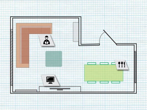 Make your furniture layout