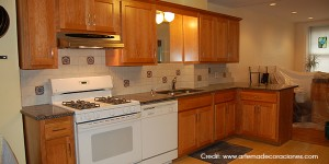 Restain-Refinish-Kitchen-Cabinets