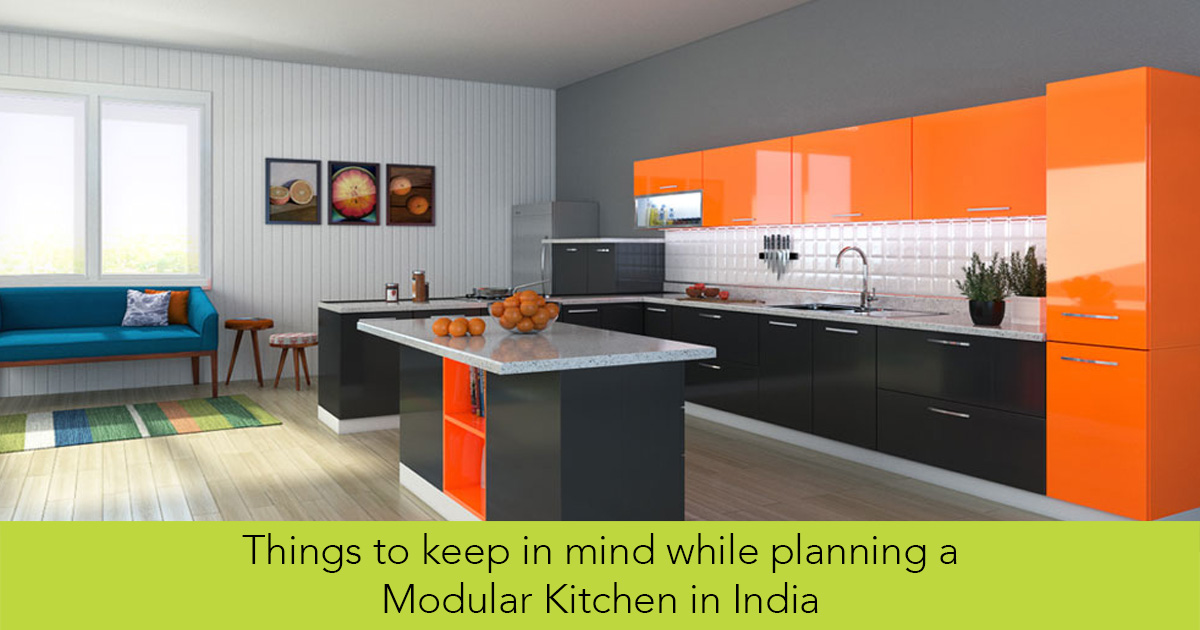 Things To Keep In Mind While Planning A Modular Kitchen In India   Luxus  India